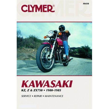 KZ Z ZX 750 80-85 Revue technique Clymer KAWASAKI Anglais