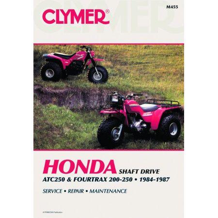ATC250 4Trax 200-250 84-87 Revue technique Clymer HONDA Anglais