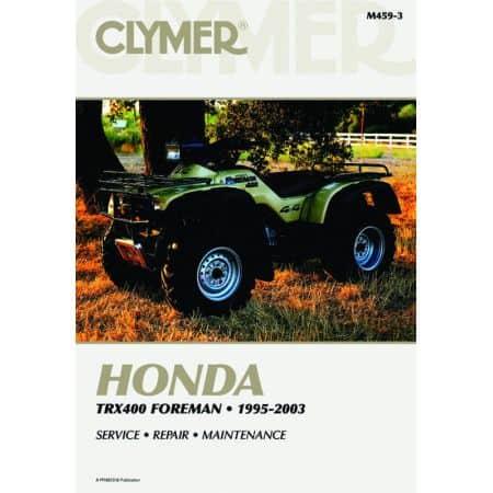 TRX400 Foreman 95-03 Revue technique Clymer HONDA Anglais