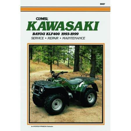 KLF400 Bayou 93-99 Revue technique Clymer KAWASAKI Anglais