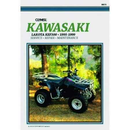 KEF300 Lakota 95-99 Revue technique Clymer KAWASAKI Anglais