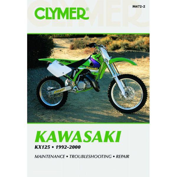 KAWASAKI KX 125 1992-2000 RCLYM472-2 - Revue Technique