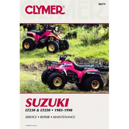 LT230 - LT250 85-90 Revue technique Clymer SUZUKI Anglais