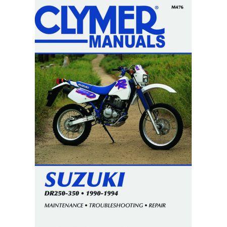 DR250-350 90-94 Revue technique Clymer SUZUKI Anglais