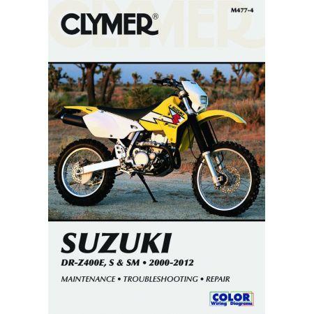 DR-Z400 E, S,SM 00-12 Revue technique Clymer SUZUKI Anglais