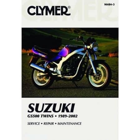 GS500 Twins 89-02 Revue technique Clymer SUZUKI Anglais
