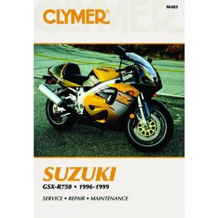 GSX-R 750 96-99 Revue technique Clymer SUZUKI Anglais