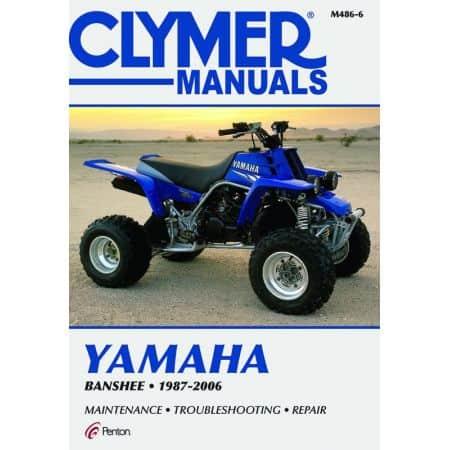 Banshee 87-06 Revue technique Clymer YAMAHA Anglais