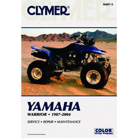Warrior 87-04 Revue technique Clymer YAMAHA Anglais