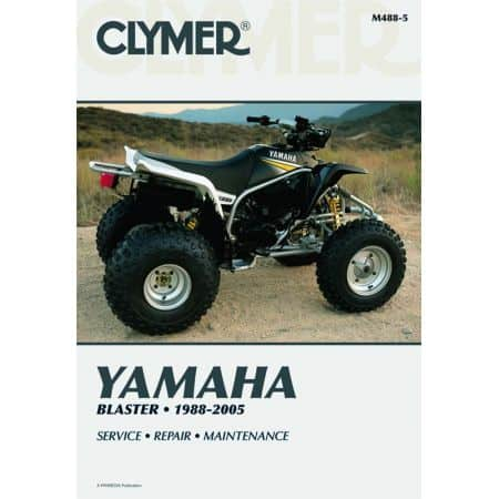 Blaster 88-05 Revue technique Clymer YAMAHA Anglais