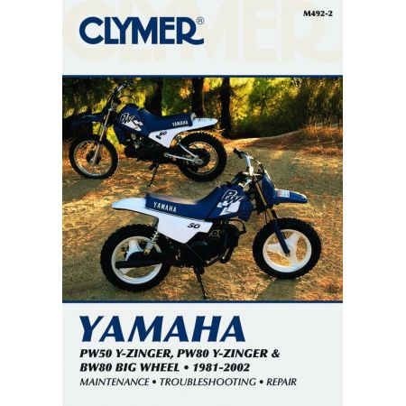 PW50 Y-Zinger, PW80 Y-Zinger and BW80 Big Wheel 81-02 Revue technique Clymer YAMAHA Anglais