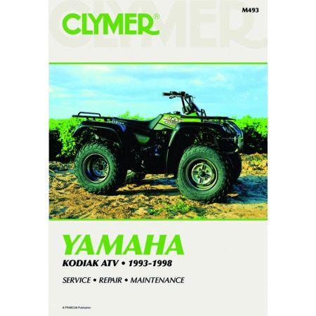 YFM400 Kodiak 93-98 Revue technique Clymer YAMAHA Anglais