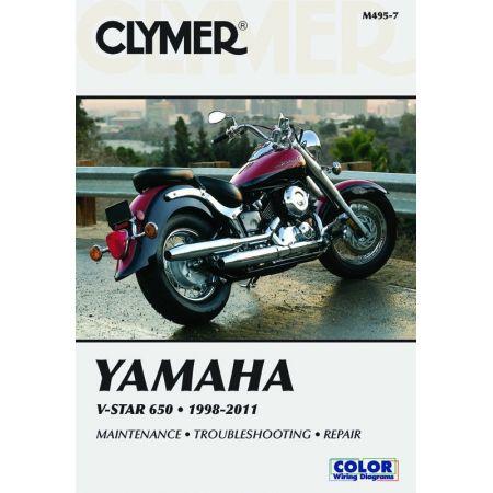 V-Star 650 98-11 Revue technique Clymer YAMAHA Anglais