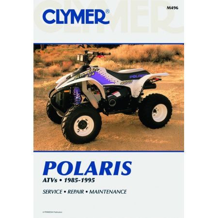ATV 85-95 Revue technique Clymer POLARIS Anglais