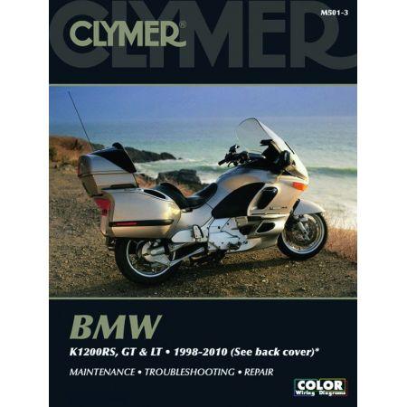 K1200 RS LT GT 98-10 Revue technique Clymer BMW Anglais
