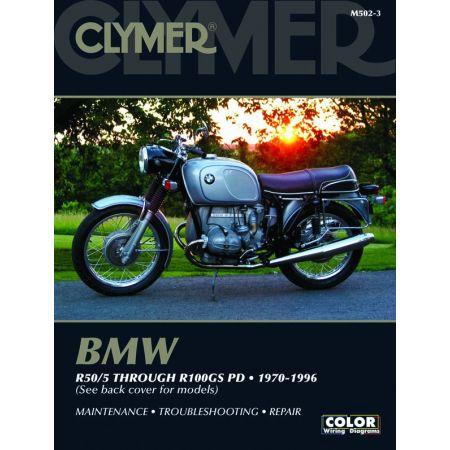 R50/5 - R100GS PD 70-96 Revue technique Clymer BMW Anglais