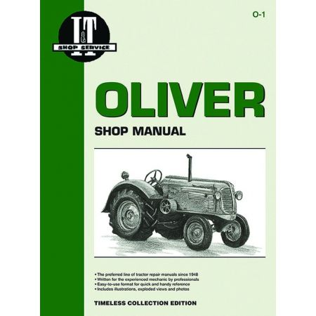 Mdls 60HC 66HC 70HC 80+ Revue technique Clymer OLIVER Anglais