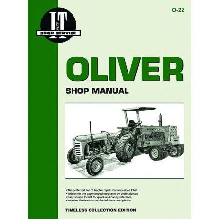 Mdls 2050 2150 Revue technique Clymer OLIVER Anglais