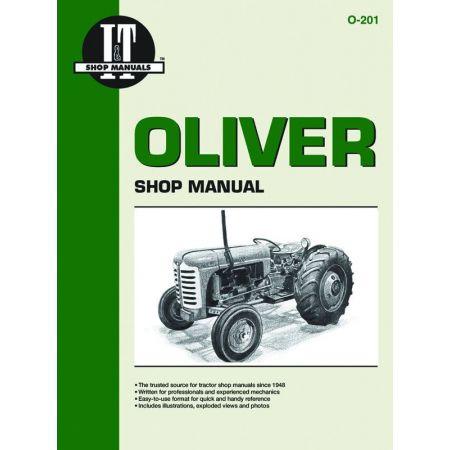 Cmpltn O10 O7 O13 & O11A Revue technique Clymer OLIVER Anglais