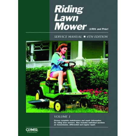 Riding Lawn Mower V1 Revue technique Haynes Clymer Anglais