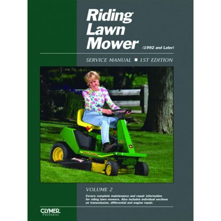 Riding Lawn Mower 92- V2 Revue technique Haynes Clymer Anglais
