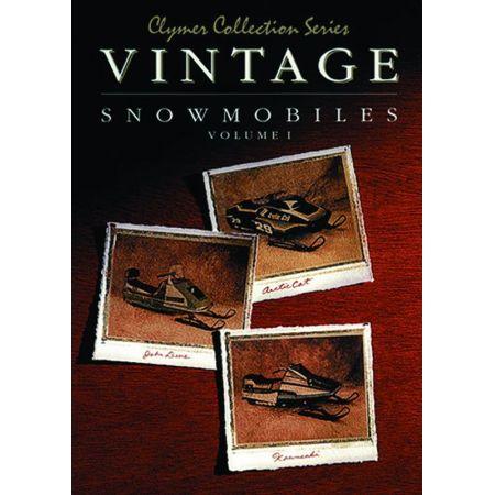 Vintage Snowmobile V1 Revue technique Haynes Clymer Anglais