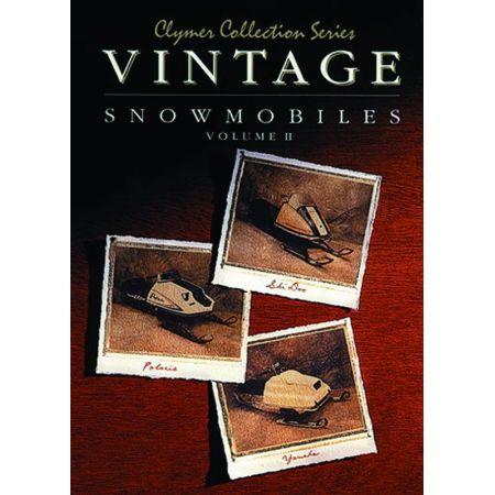 Vintage Snowmobile V2 Revue technique Haynes Clymer Anglais