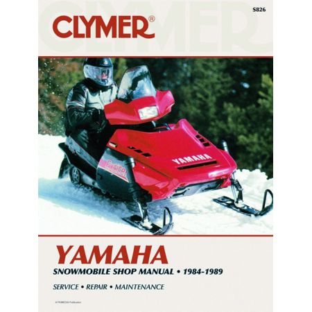 Snowmobile 84-89 Revue technique Haynes Clymer YAMAHA Anglais