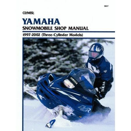 Snowmobile 97-02 Revue technique Haynes Clymer YAMAHA Anglais