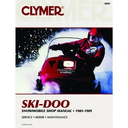 Snowmobile 85-89 Revue technique Haynes Clymer SKI-DOO Anglais
