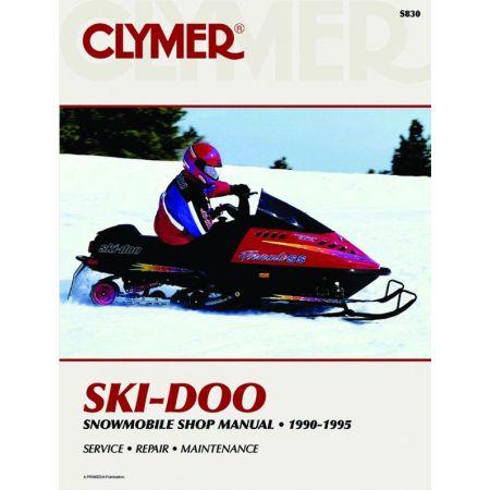 Snowmobile 90-95 Revue technique Haynes Clymer SKI-DOO Anglais