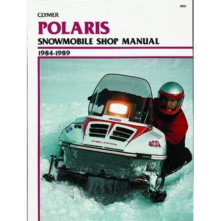 Snowmobile 84-89 Revue technique Haynes Clymer POLARIS Anglais