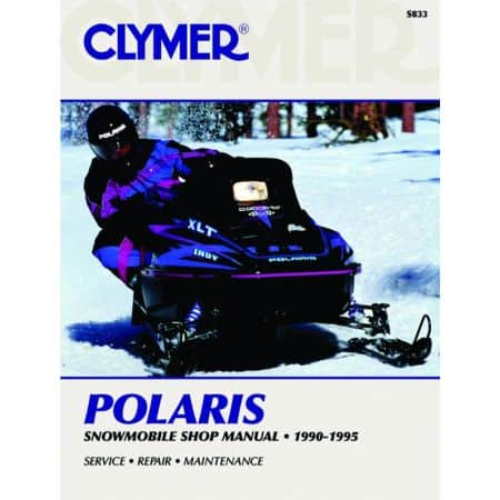 Snowmobile 90-95 Revue technique Haynes Clymer POLARIS Anglais