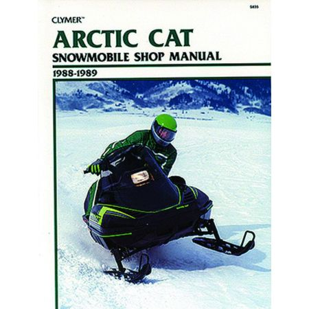 Snowmobile 88-89 Revue technique Haynes Clymer ARTIC-CAT Anglais