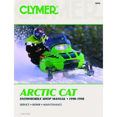 Snowmobile 90-98 Revue technique Haynes Clymer ARTIC-CAT Anglais
