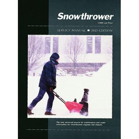 Snowthrower Service Ed 3 Revue technique Haynes Clymer Anglais