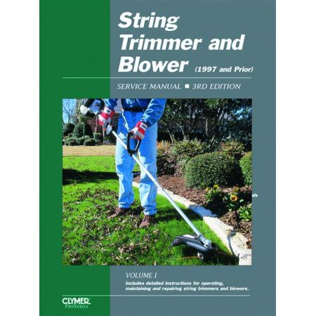 String Trimmer Srvc Ed 3 -97 Revue technique Haynes Clymer Anglais