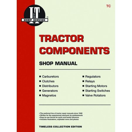 Tractor Components Shop Revue technique Haynes Clymer Anglais