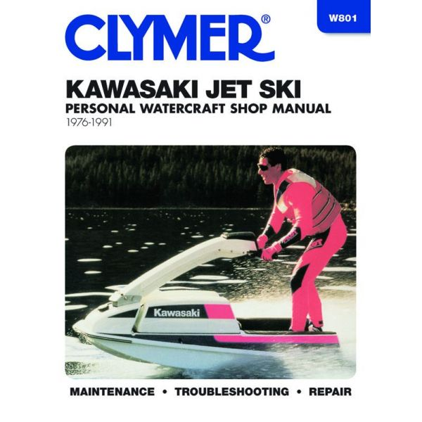 Jet Ski 76-91 Revue technique Haynes Clymer KAWASAKI Anglais
