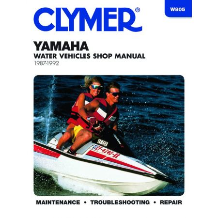 Water Vehicles 87-92 Revue technique Haynes Clymer YAMAHA Anglais