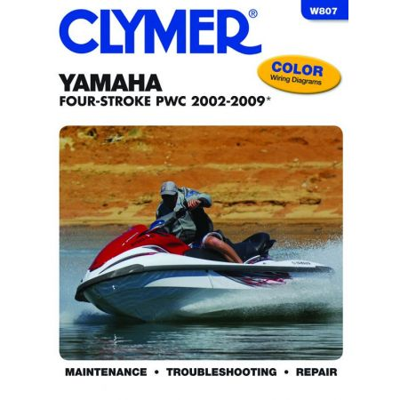 Four Stroke PWC 02-09 Revue technique Haynes Clymer YAMAHA Anglais