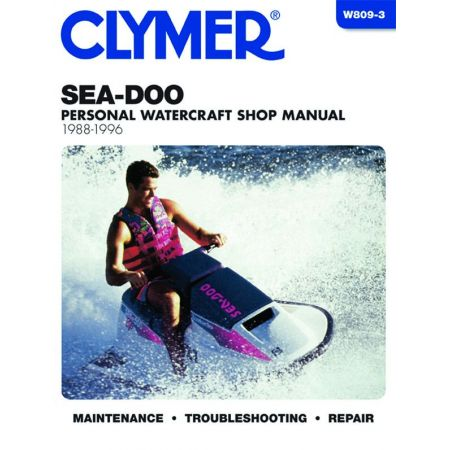 Water Vehicles 88-96 Revue technique Haynes Clymer SEA-DOO Anglais