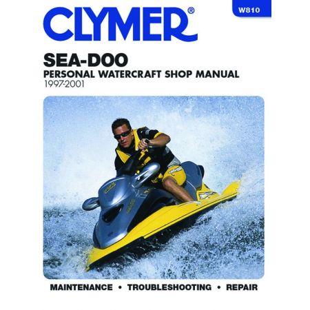 Water Vehicles 97-01 Revue technique Haynes Clymer SEA-DOO Anglais