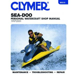 Water Vehicles 97-01 Revue technique Haynes Clymer SEA-DOO Anglais