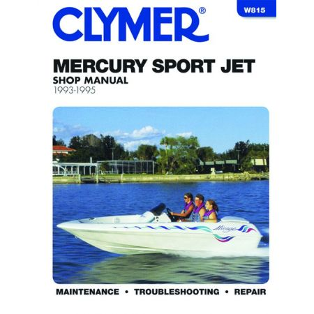 Powered Sport Jet 93-95 Revue technique Haynes Clymer MERCURY Anglais