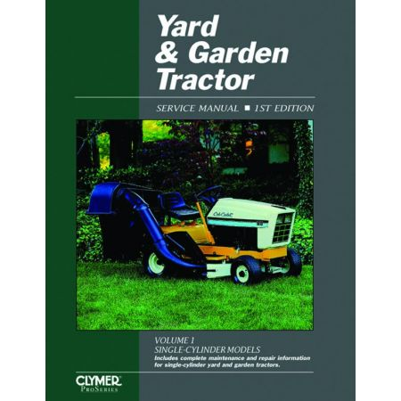 Yard & Garden Tractor V 1 Ed 1 Revue technique Haynes Clymer Anglais