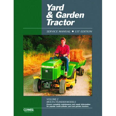Yard & Garden Tractor V 2 Ed 1 Revue technique Haynes Clymer Anglais