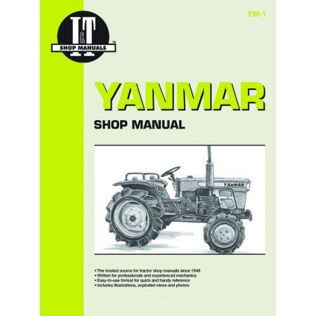 Mdls YM135 YM135D YM155 Revue technique Haynes Clymer YANMAR Anglais