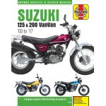 RV 125-200 03-16 Revue technique Haynes SUZUKI Anglais