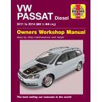 Passat Diesel 11-14 Revue Technique Haynes VW Anglais